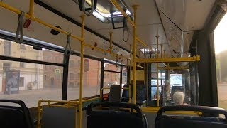Смотреть видео Санкт-Петербург, маршрут 14: МАЗ-103.468, В 147 НУ 178 онлайн