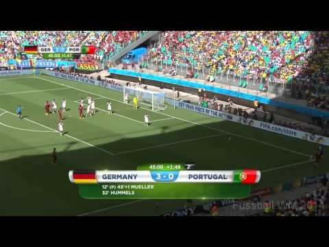 Germany-Portugal 4:0 Soccer World Cup 2014 (Full Game) HD720p (50Fps)