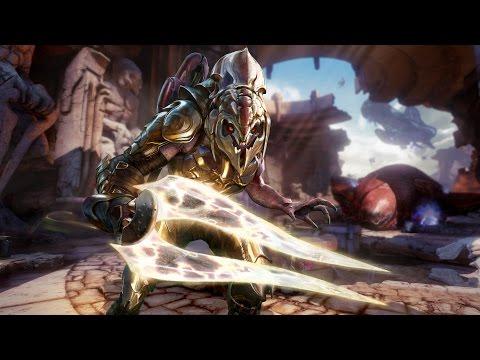 Показана боевая система гостевого персонажа Killer Instinct - Арбитра