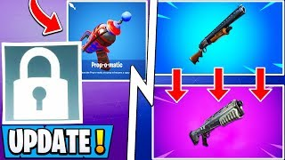 *NEW* Fortnite Update! | Pump V2 Coming, Prop Hunt, Deleted Rare Skin!