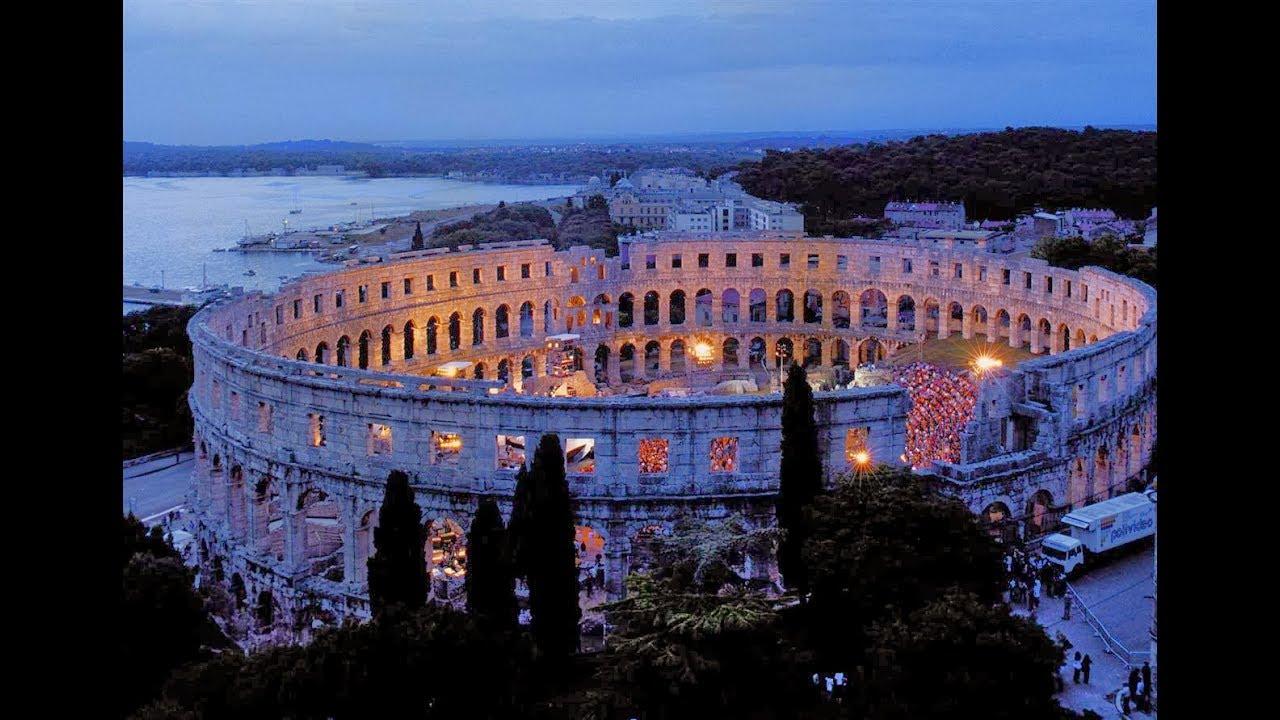 Download Roman Arena / Amphitheatre   Pula Croatia