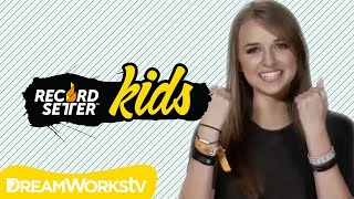 Jennxpenn & the Smartest Kids in the World Break Incredible Records | RecordSetter Kids