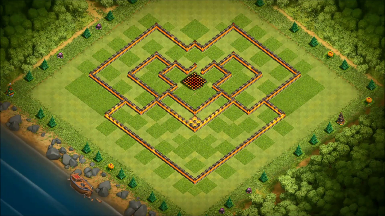 Base Coc Th 9 Anti Maling 2