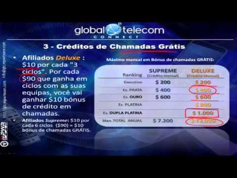 Global Telecom Connect   7 formas de ganhos  Brasil