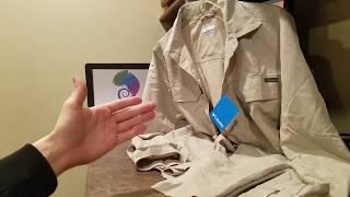 👕 Columbia Men's Silver Ridge Long Sleeve Shirt Review Omni Wick Omni Shade UVB Hiking Backpacking