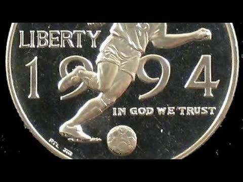 1994 World Cup Commemorative Half Dollar.