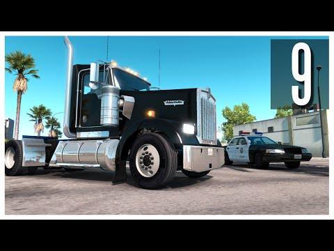 American Truck Simulator - Ep.09 : Kenworth W900 & Sacramento!