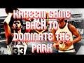 NBA 2k19 99 Overall Kareem Abdul-Jabbar at the park!!