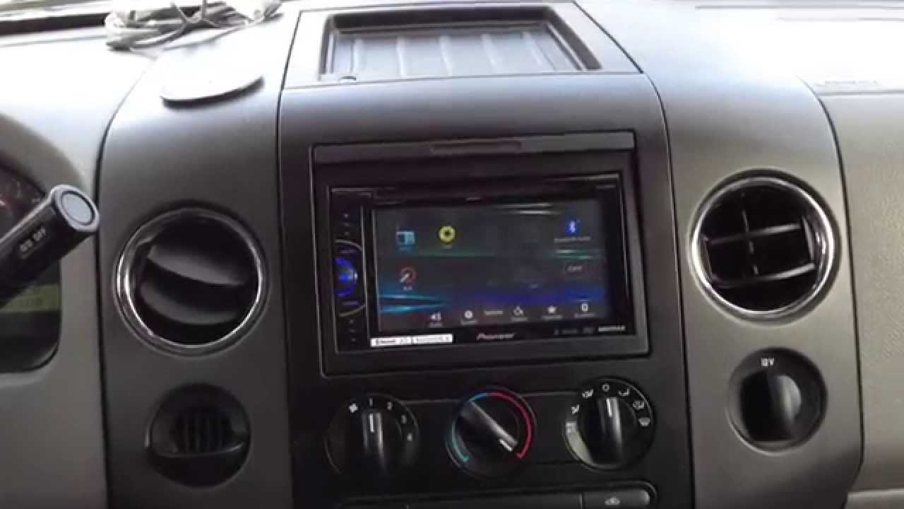 2008 ford f150 radio replacement youtube. Black Bedroom Furniture Sets. Home Design Ideas