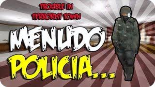Menudo policia... - c/ Vegetta, Luzu, Willyrex y Alexby (Trouble in Terrorist Town) #3