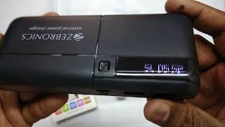 Zebronics Fast charging power bank zeb mc10000