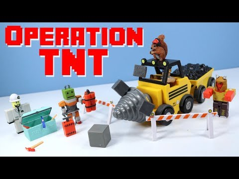 ROBLOX Series 3 Operation TNT Playset & Mining Gameplay Toy Review