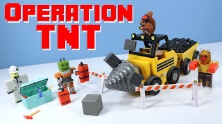 ROBLOX Series 3 Opération TNT Playset - Mining Gameplay Toy Review
