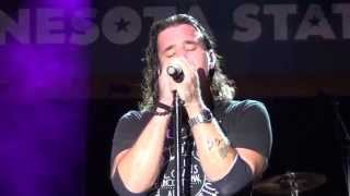 Scott Stapp of Creed Live: New Day Coming (Minnesota State Fair - 8/25/14)