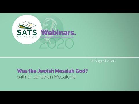 Jonathan McLatchie - The Deity Of Israel's Messiah