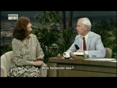 Dian Fossey on the Tonight show