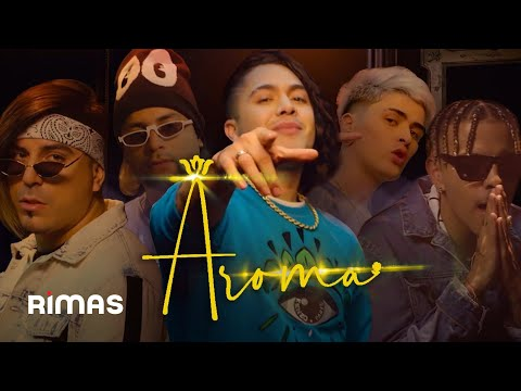 Aroma - JD Pantoja, Rauw Alejandro, Dayme y El High Ft Lit Killah  (Video Oficial)