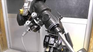 3D printed - Small Travel EQ telescope mount 2019