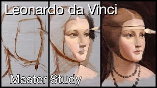 In today's episode i invite you to draw or paint along with me! we will be creating a master study of leonardo da vinci painting. the name painting ...