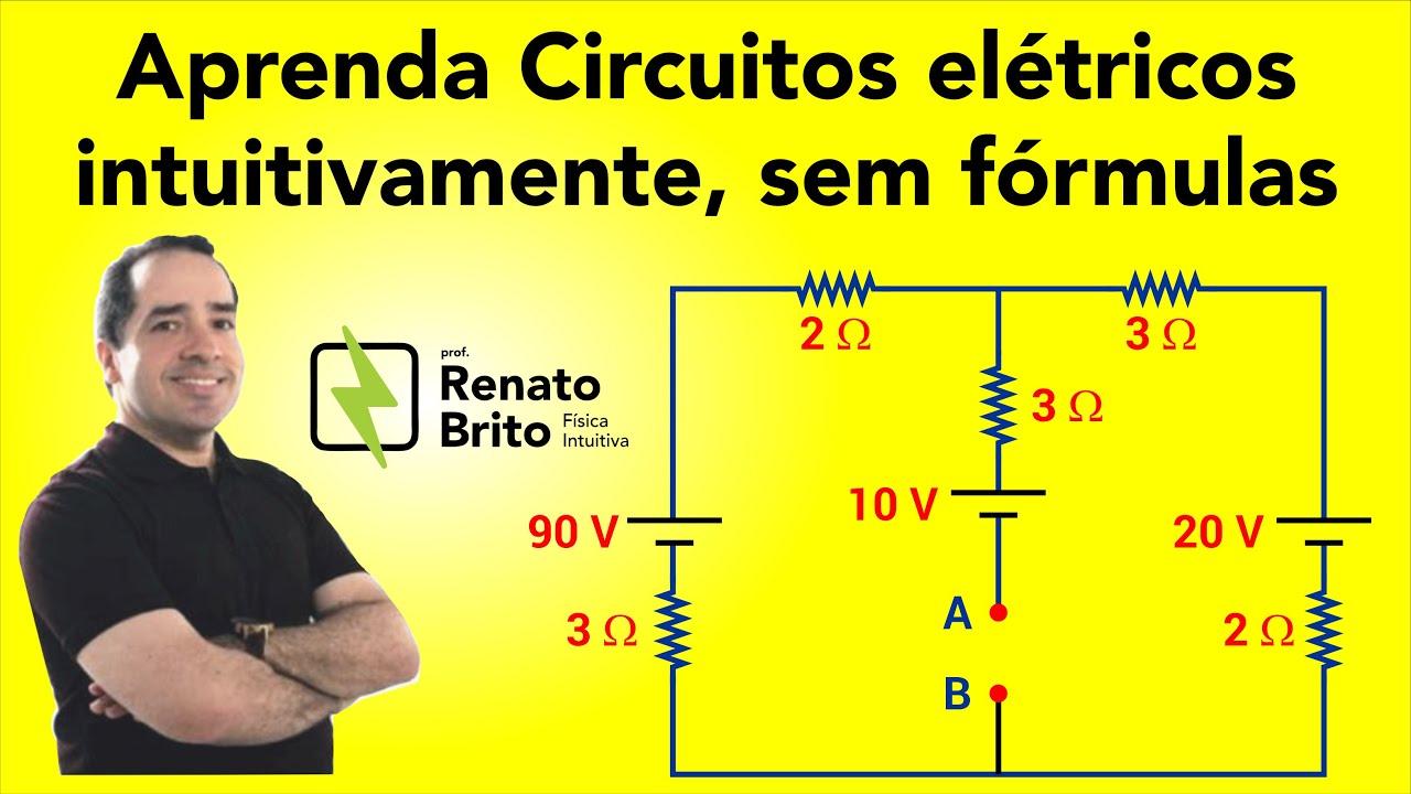 Circuito Rlc Serie Exercicios Resolvidos : Aprendendo circuitos eletricos intuitivamente sem