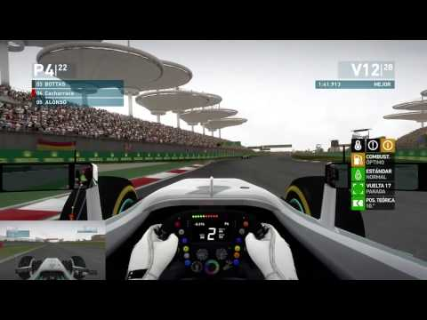 F1 2014 #4 Shanghai (China) | Coop Career Cacharraco Vs. xKozik