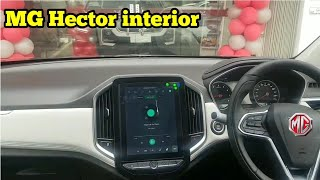 2019 MG Hector SUV interior | MG Hector SUV - MG Motor India's First Car