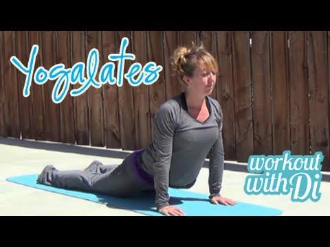 7 minute yogalates workout youtube. Black Bedroom Furniture Sets. Home Design Ideas
