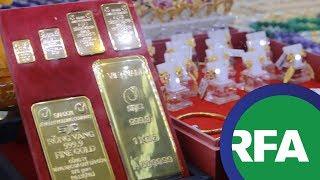Hà Nội muốn huy động đô la vàng của dân   © Official RFA