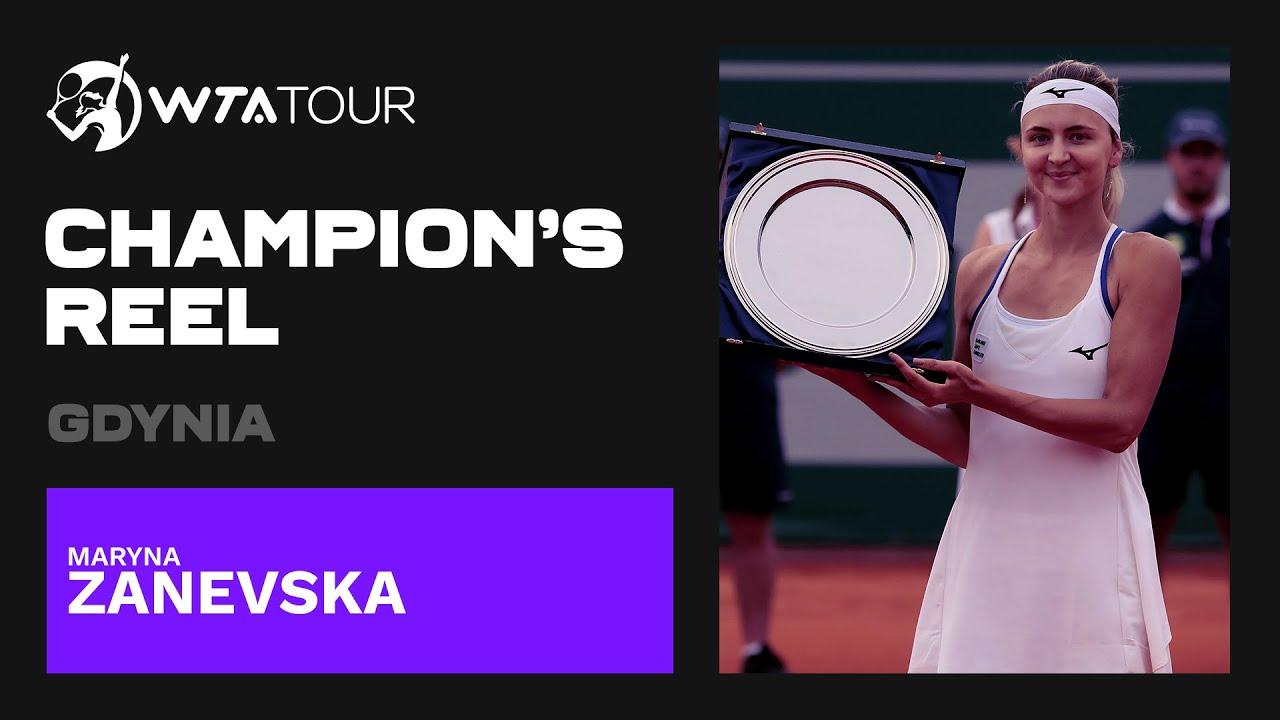 Maryna Zanevska | 2021 Gdynia | WTA Champion's Reel