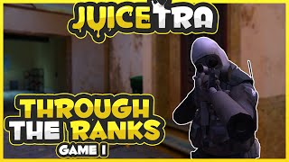 Dirty Smurf! (CS:GO Through The Ranks) Game #1