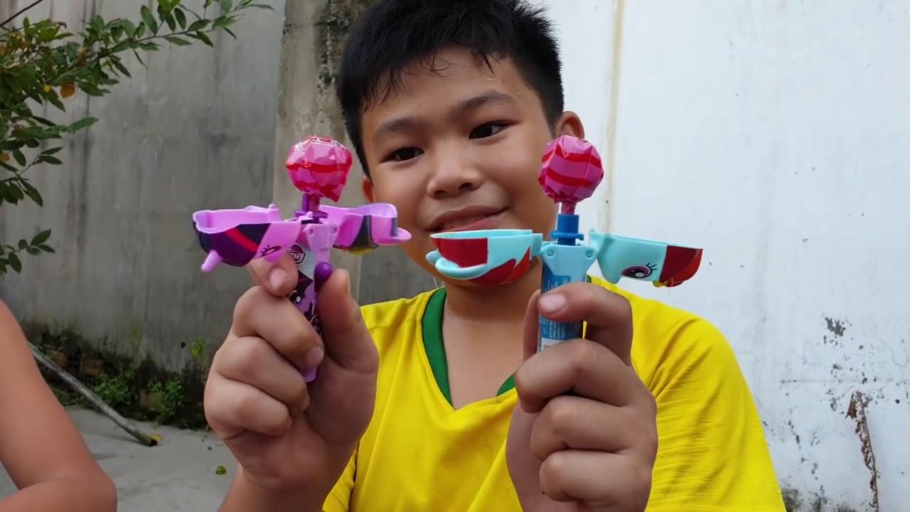 Trò Chơi Cô Bé Con Giáng Sinh ❤ ChiChi TV ToysReview ❤ Đồ Chơi Trẻ Em Baby Hubba Bubba