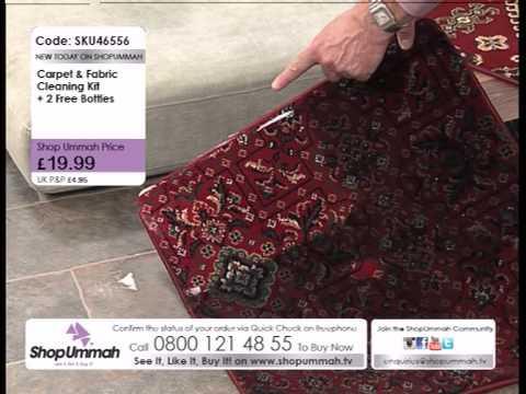 SHOP UMMAH Carpet & Fabric Cleaning Kit 11 05 15