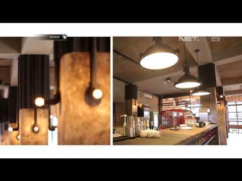 D'SIGN - Cafe Berkonsep Industrial Yang Nyaman di The Cortado