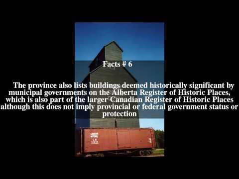Provincial historic sites of Alberta Top # 10 Facts