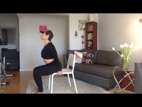 Root to Rise Chair Yoga for Lower Back Pain Relief