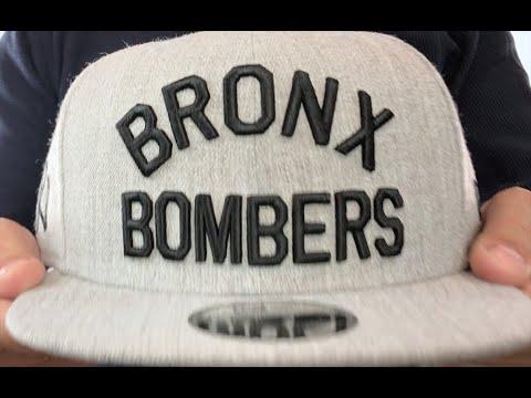 Yankees  BRONX BOMBERS SNAPBACK  Heather Light Grey Hat by New Era ... 1e5db0b57fe
