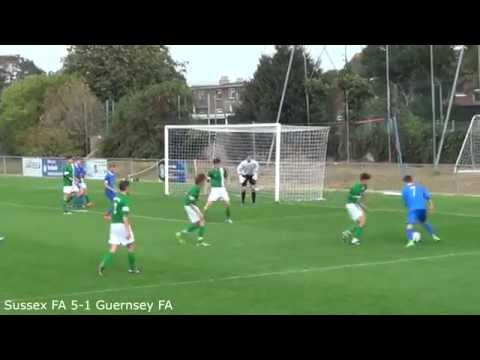 Sussex vs. Guernsey (under-16s) - 28/09/14