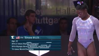 Simone Biles - All Around Champion 2019 World Artistic Gymnastics Championships