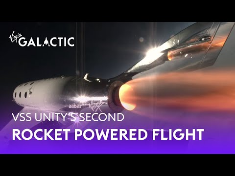 Richard Branson Welcomes VSS Unity Home from Second Supersonic Flight