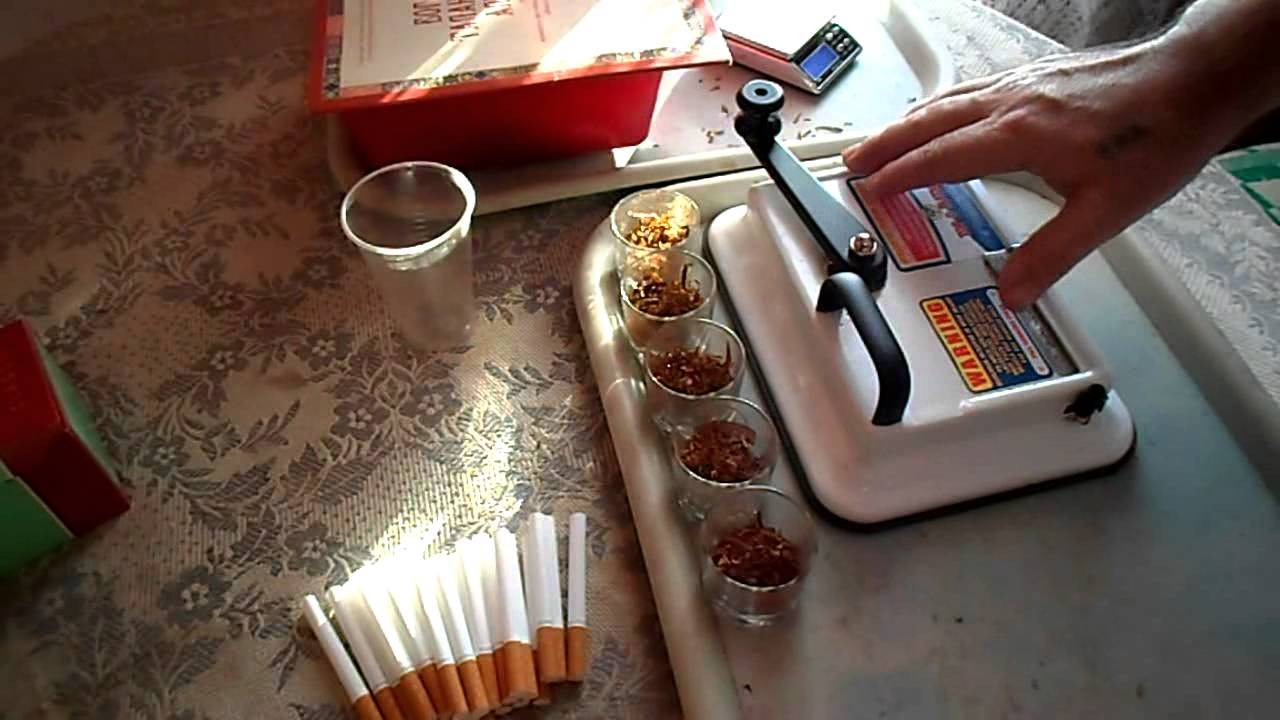Машинка для набивки сигарет своими руками фото 431