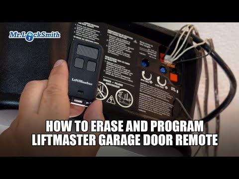 How to Erase and Program Liftmaster Garage Door Remote (604) 757-6557