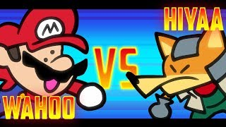 Speedrunner Mario VS Melee Fox - 1M Subscriber Special! - SOMETHING VERSUS