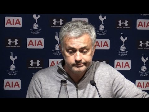 Tottenham 2-1 Manchester United - Jose Mourinho Full Post Match Press Conference