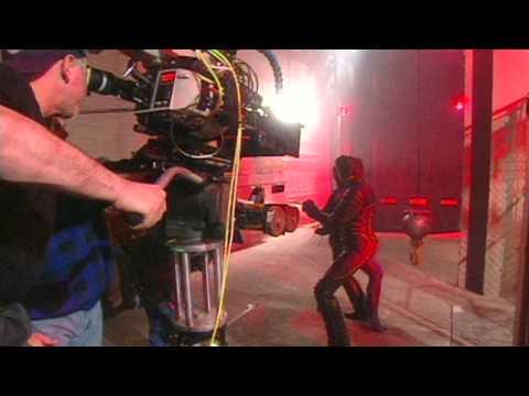 XMen 2000:   Hugh Jackman, Halle Berry, Bryan Singer