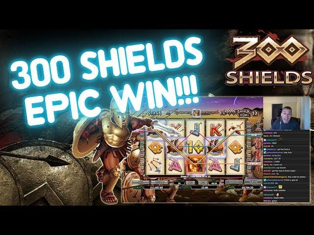 300 Shields INSANE WIN!!!!