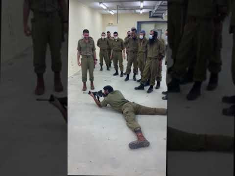 Watch: 35-year-old Rabbi In IDF Basic Training