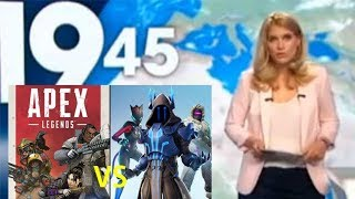 LE JOURNAL DE M6 - APEX LEGENDS VS FORTNITE ! -