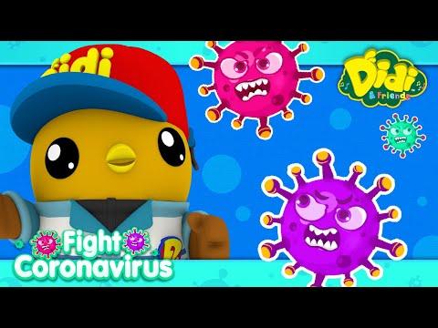 Fight Coronavirus Song for Children   Fun Family Song   Didi & Friends Song for Children