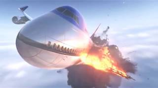 Download Houdini Fx Airplane Explosion And Destruction R D