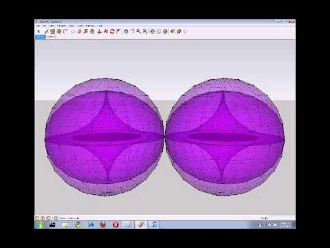 Creative Cyclic Model in playful 3-D